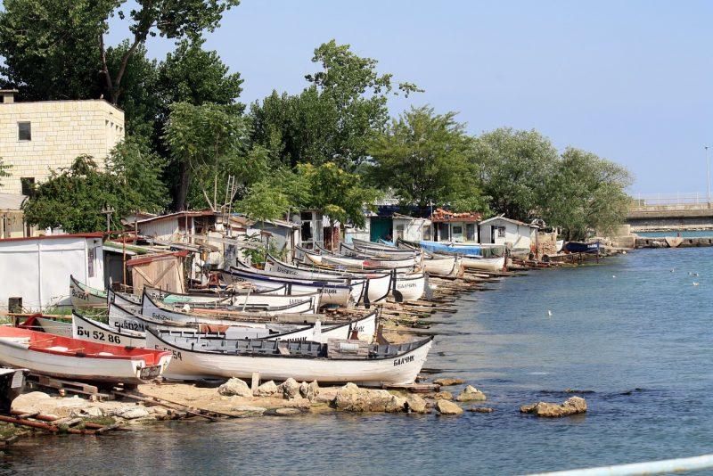 Miasto Bałczik wybrzeże